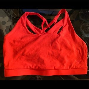 Gymshark athletic sports bra Coral Sz M